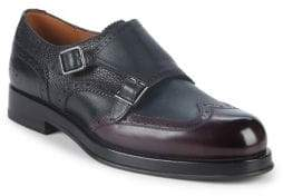 Bally Noyce Double Monk-Strap Leather Shoes