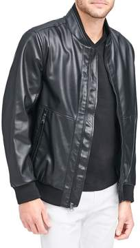 Andrew Marc Beekman Faux Leather Bomber