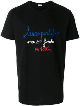 Le Coq Sportif tricolour 1882 T-shirt