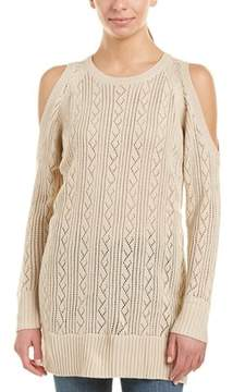 Flying Tomato Cold-shoulder Sweater.