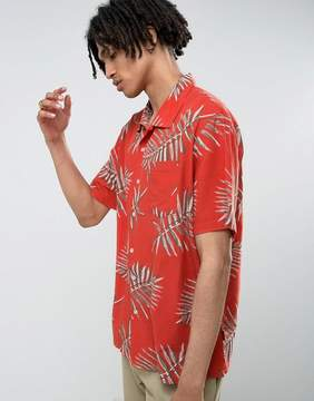 Brixton Print Shirt in Relaxed Fit