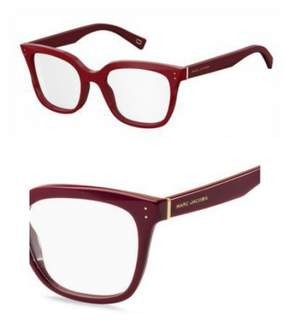 Marc Jacobs Eyeglasses 122 0OXU Burgundy