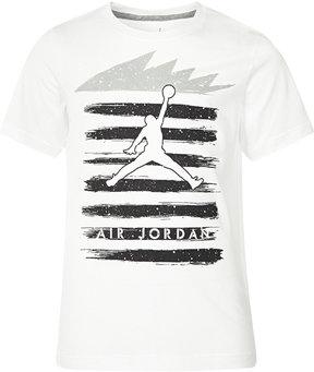 Jordan Striped Graphic-Print Cotton T-Shirt, Big Boys (8-20)