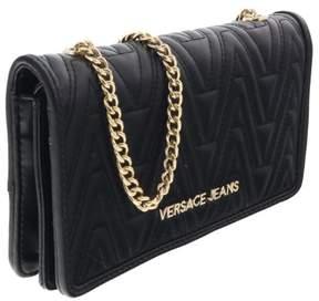 Versace EE3VRBPY4 Black Wallet on Chain