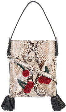 Altuzarra Ghianda Ete cherry applique bag