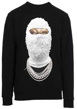 Ih Nom Uh Nit Men's Black Cotton Sweatshirt.