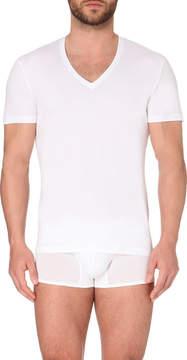 La Perla Seamless v-neck t-shirt