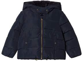 Cyrillus Navy Hooded Coat