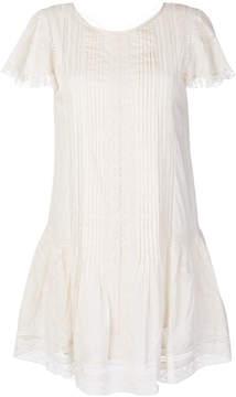 Diesel lace flared dress