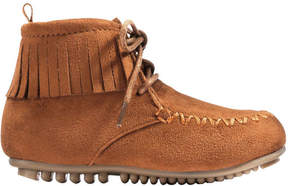 Joe Fresh Toddler Girls' Fringe Boots, Tan (Size 9)