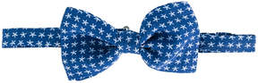 Canali floral print bow tie