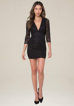 Bebe Aston Lace Dress