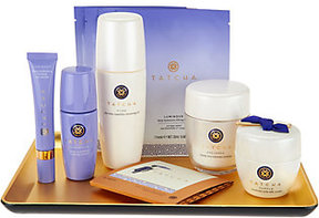 Tatcha 7-Piece Timeless Ritual Collection with Gold Obon Tray