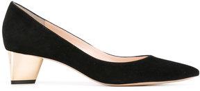 Nicholas Kirkwood metallic heel pumps