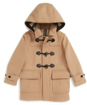 Burberry Boy's 'Burwood' Wool Toggle Coat