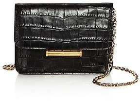 Jason Wu Diane Croc-Embossed Leather Crossbody