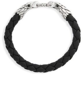 John Hardy Men's Legends Eagle Double Head Bracelet