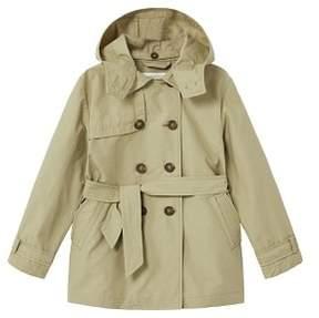 MANGO Detachable hood trench coat