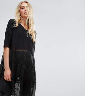 Noisy May Tall Tiered Lace Dress