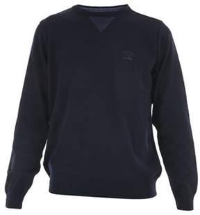 Paul & Shark Men's I16p1085sf050 Blue Wool Sweater.