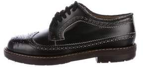 Marni Leather Brogue Oxfords