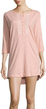 Asstd National Brand Pacifica Knit Nightshirt