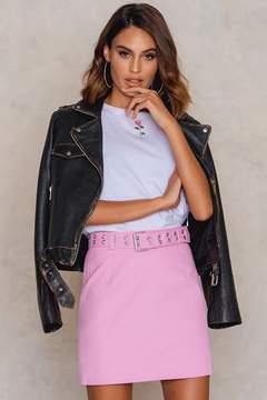 NA-KD Na Kd Cotton Belted Skirt