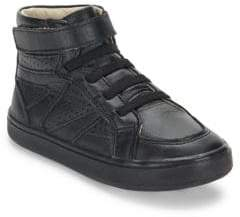 Old Soles Starter Shoe High-Top Leather Sneakers