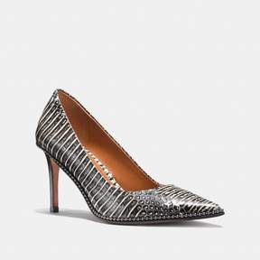 Coach New YorkCoach Beadchain Pump In Snakeskin