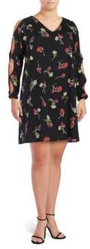 Context Plus Floral Shift Dress