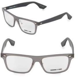 McQ 53MM Square Optical Glasses