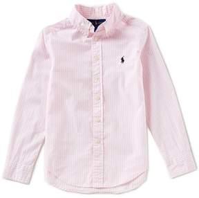 Ralph Lauren Little Boys 5-7 Long-Sleeve Striped Poplin Shirt