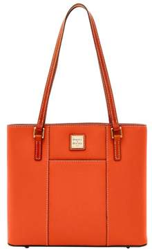 Dooney & Bourke Pebble Grain Small Lexington Shopper Bag - PERSIMMON - STYLE