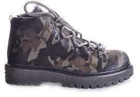 Car Shoe Women's Multicolor Leather Ankle Boots.