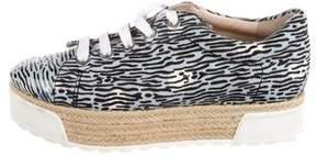 Kenzo Printed Platform Sneakers