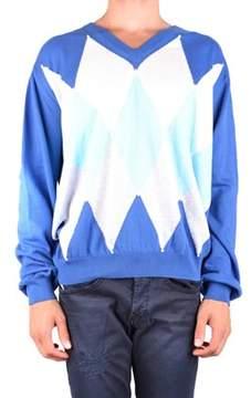 Ballantyne Men's Mcbi032074o Blue Cotton Sweatshirt.
