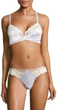 Calvin Klein Underwear Enamored Lace Triangle Bra
