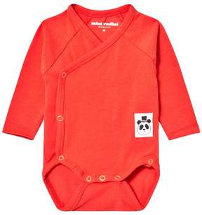 Mini Rodini Red Basic Wrap Body
