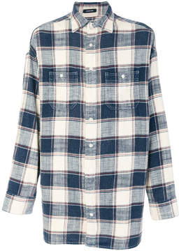 R 13 checked shirt