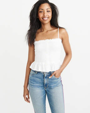 Abercrombie & Fitch Smocked Tube Top
