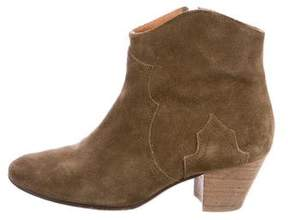 Etoile Isabel Marant Dicker Suede Ankle Boots