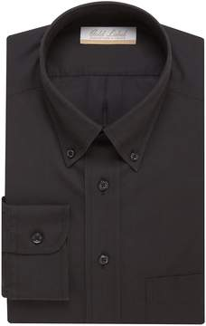 Roundtree & Yorke Gold Label Non-Iron Full-Fit Button-Down-Collar Solid Dress Shirt