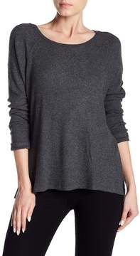 Velvet by Graham & Spencer Zurie Rib Knit Raglan Sleeve Shirt