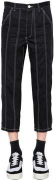Comme des Garcons Cotton Gabardine Cropped Pants