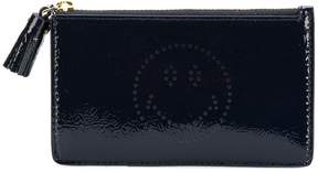 Anya Hindmarch Smiley zipped card case