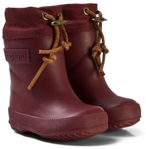 Bisgaard Thermo Wool Rubber Boot Bordeaux