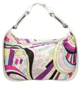 Emilio Pucci Canvas Shoulder Bag