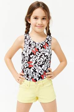 Forever 21 Girls Minnie Mouse Graphic Bodysuit (Kids)