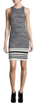 Ella Moss Rib-knit Bodycon Dress