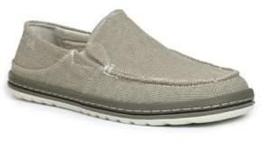 Simple Canvas Slip-On Sneakers